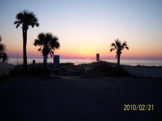Beautiful sunrise 2/21/2010 Jacksonville beach