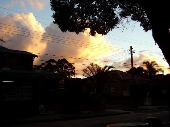 Sunset over Abbotsford, Sydney