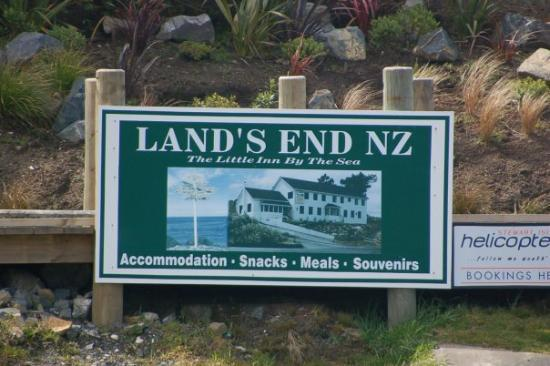 Land's End, Bluff New Zealand