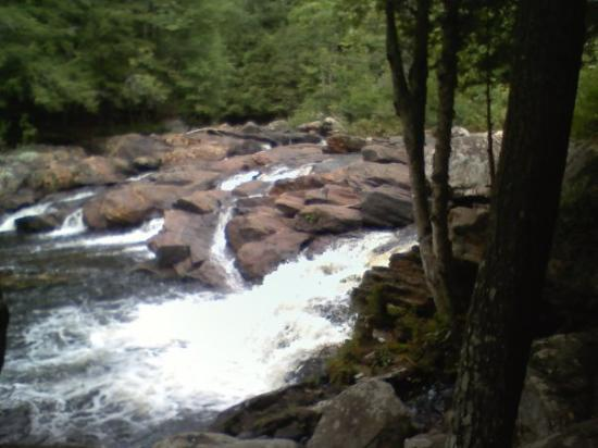 Pottersville, NY: Natural Stone Caves and Bridge ... this place was beautiful and fun
