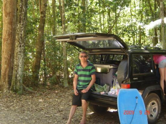 Coolum Beach, ออสเตรเลีย: bush bash in the Jeep