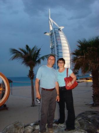 Burj Al Arab Jumeirah: Fitting ending of our trip... Burj AL Arab...