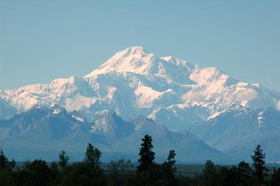 Talkeetna, AK: Denali, also known as Mount McKinley