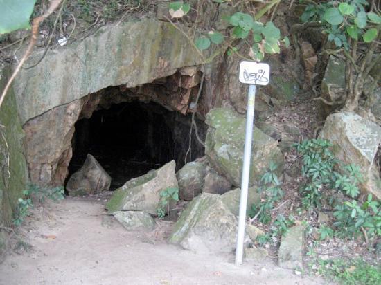 A Kamakazzi grotto Lamma Island 南丫島