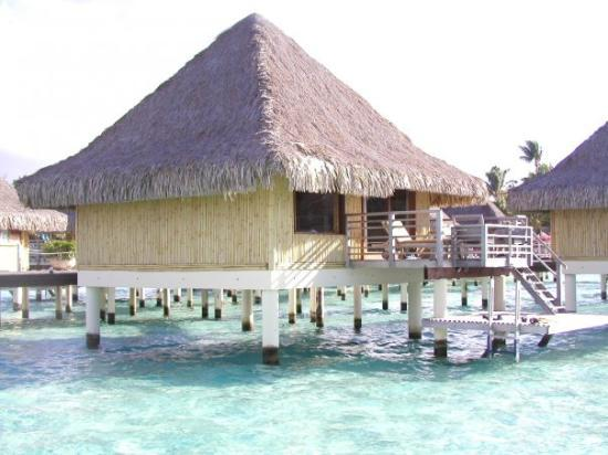 Bora Bora, Fransk Polynesia: The hut we stayed in.