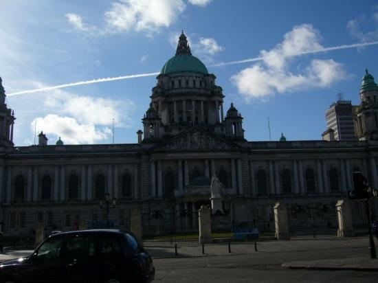 City Hall: Monday morning, and blue skies over Belfast!