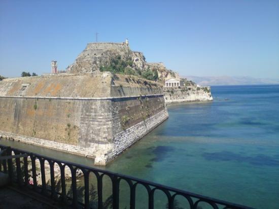 Korfu by, Hellas: Corfu Town Old Fortress