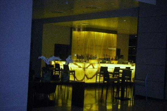 Best Western Premier BHR Treviso Hotel: il bancone del bar...dalla foto non rende
