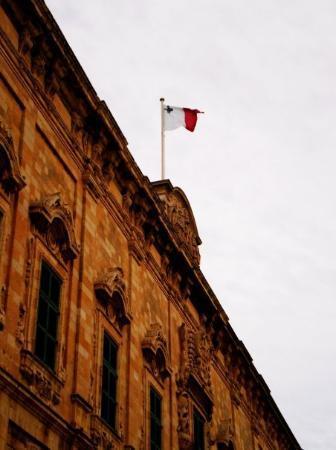 St. Julians, Malta: the Maltese Flag