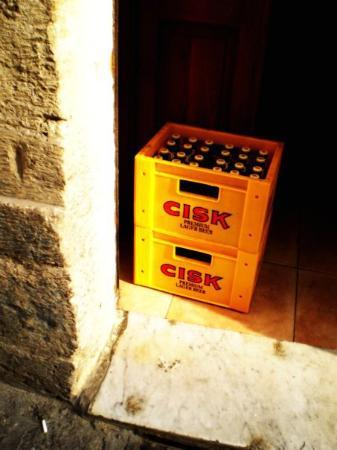 St. Julians, Malta: Cisk - the Maltese beer!