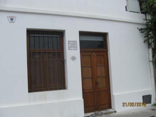 Colonia del Sacramento, Uruguay: Casa del Historiador argentino Félix Luna