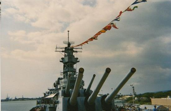 Battleship Missouri Memorial: Uhh... the USS Missouri, I guess?