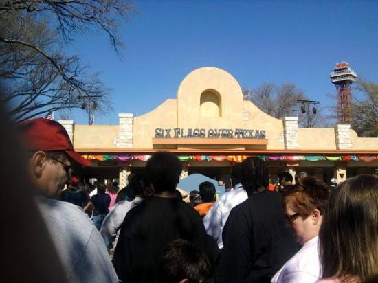 Bilde fra Six Flags Over Texas