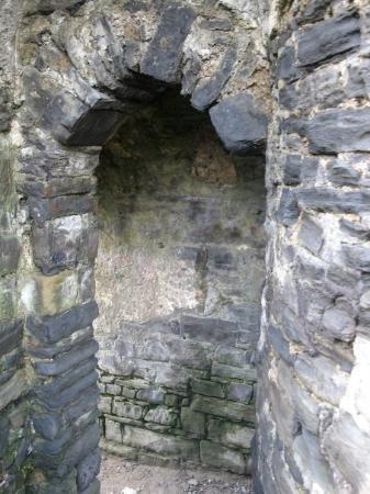 Aberystwyth, UK: Niche becomes passageway