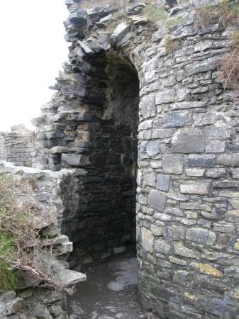 Aberystwyth, UK: niche in the wall or passageway?
