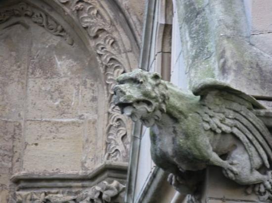 Aberystwyth, UK: Gargoyle on the University Building