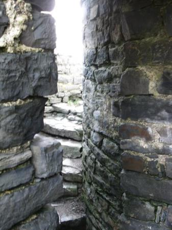 Aberystwyth, UK: Aber stairway around the corner