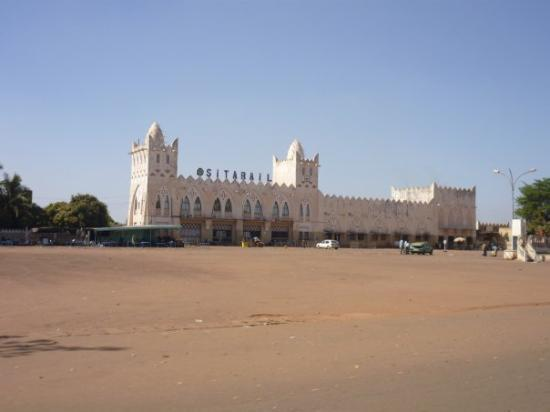 Bobo Dioulasso, Burkina Faso: gare ferroviere de bobo
