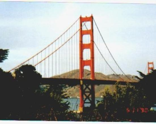 The Golden Gate AFTER I drove over it!!!
