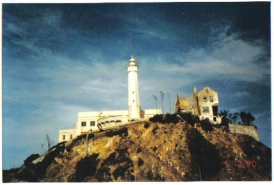 Alcatraz from the water.