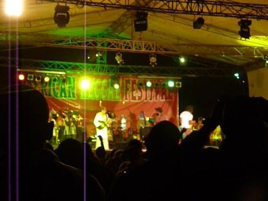 Bamako, Mali: african reggae festival