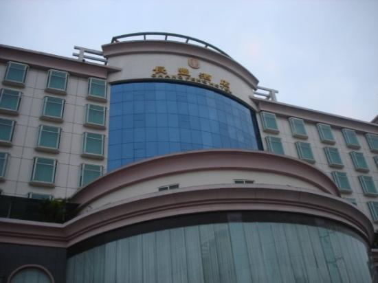 Shenzhen, Kina: Tha hotel i was at it was pretty nice
