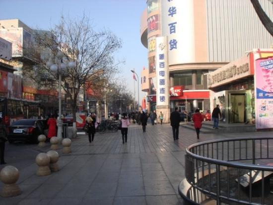Yinchuan, Kina: Down town!