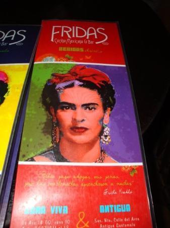 Antigua, Guatemala: Frida's Cafe