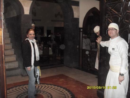 Damaskus, Syria: Restaurant el Naranjo. Recomendado 100%