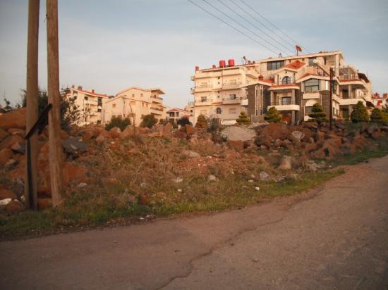 Damaskus, Syria: Ciudad de Sweida, tranquila, en lo alto de la montaña, rico clima y precioso paisaje,tranquilo