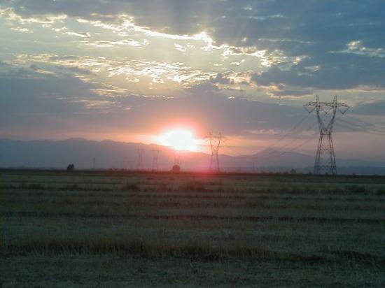 Elbistan, Tyrkia: gün batıumıu