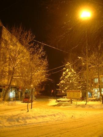 Elbistan, Tyrkia: köprübaşı kış