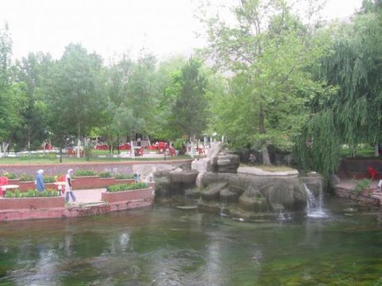 Elbistan, Tyrkia: ceyhan kenarı belediye parkı