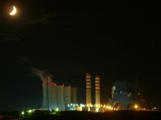 Elbistan, Tyrkia: b termik gece