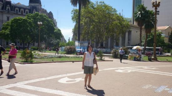 Urban Running Tours: Plaza de Mayo (otro ángulo)