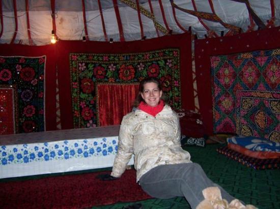Almaty, Kasakhstan: I'm in a yurt!!