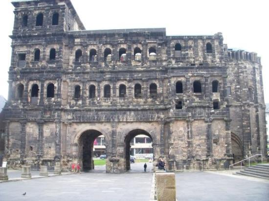 The Porta Nigra in Trier.