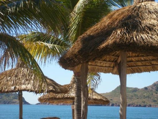 Mazatlan, Mexico: View from David's favorite palapa