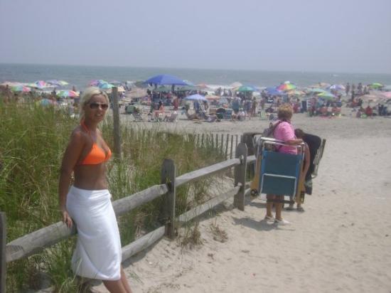Avalon, NJ: faut payer en rentrant sa plage icite