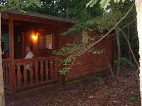 Avalon, NJ: vraiment une belle place en bois rond