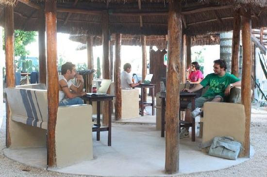 Itour Mexico: Laptop Cafe'