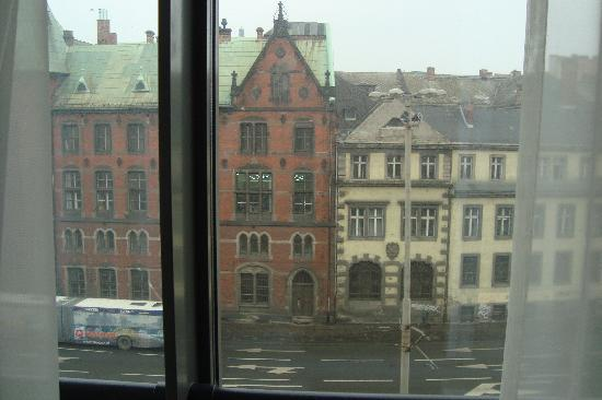Europeum Hotel: View from our room