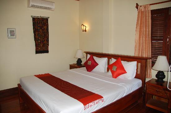 Villa Saykham: our room