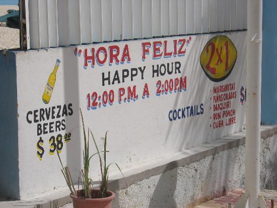 Luxury Bahia Principe Akumal: Restaurant in Playa del Carmen - 2 beers for $3!  Right on the beach!