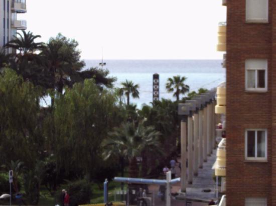 Carlos V Apartments: beach view from balcony