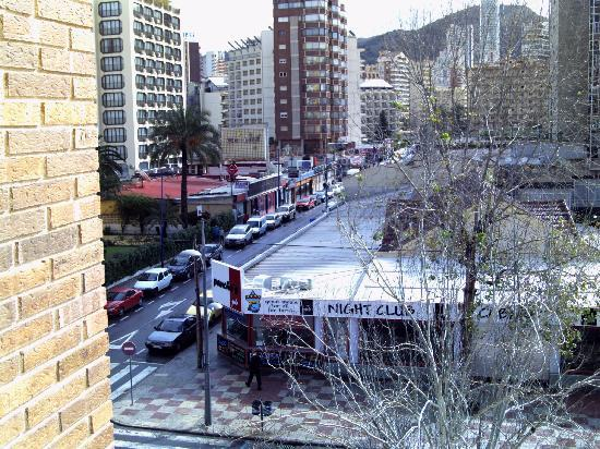 Carlos V Apartments: another view from balcony