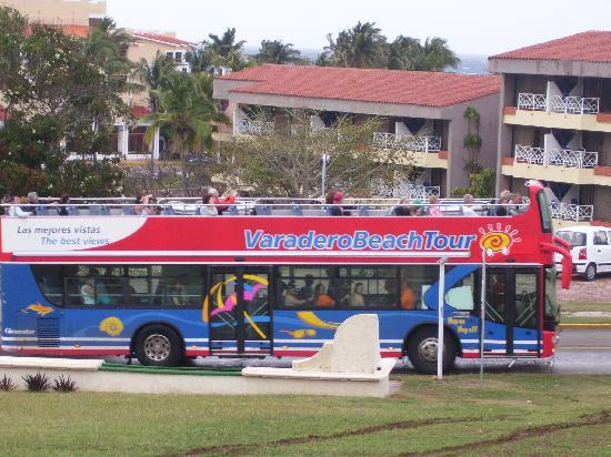 Be Live Experience Varadero: $5.00 pesos a day double decker bus