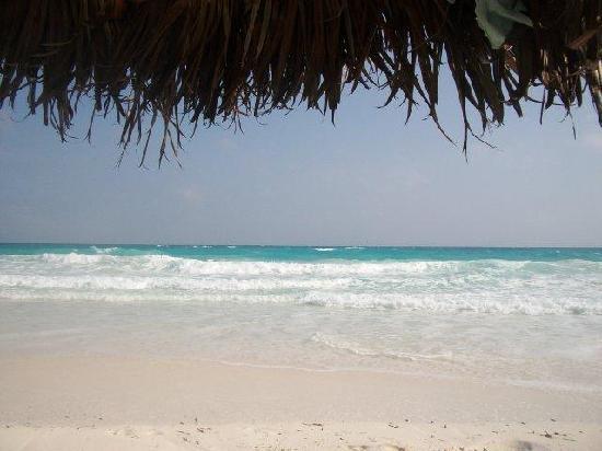 IBEROSTAR Playa Blanca: Stunning beach at Playa Blanca
