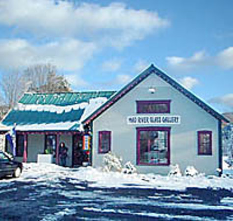 Waitsfield, Вермонт: Mad River Glass Gallery