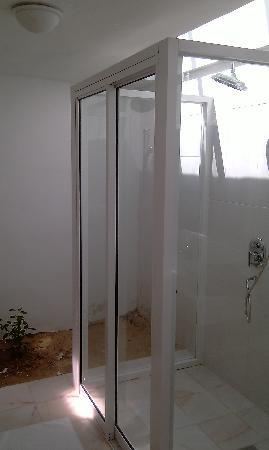 Sari Pacifica Hotel, Resort & Spa Sibu Island: shower